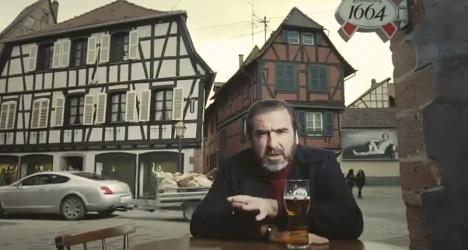 British ban on Cantona Kronenbourg ad reversed