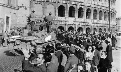Rome marks 70 years since Nazi liberation