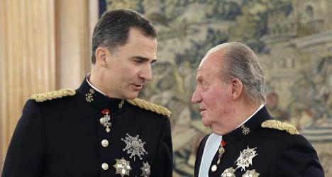 Spain rushes through legal shield for ex-king