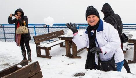 Norway sees freak June snowfall