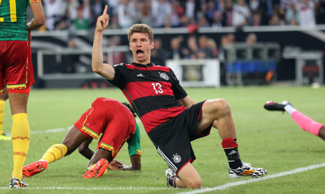 Germany survive Cameroon scare
