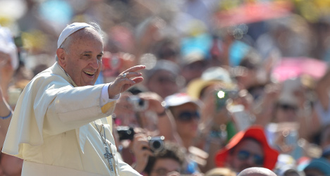 Ageing Pope puts safety 'in God's hands'