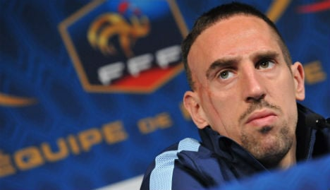 Bayern hit back at Ribery needle fear claim