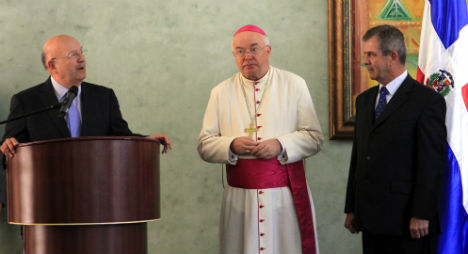 Ex-Vatican envoy defrocked for sex abuse