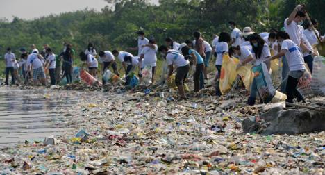 Plastic chokes 88% of ocean surface: study
