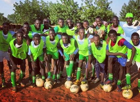 Refugee football players seek asylum in Sweden