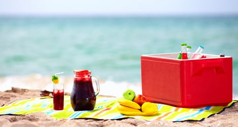 Holidaying Italians spend their money on food