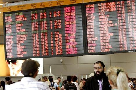 Danish passengers stranded in Tel Aviv