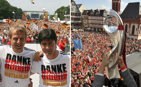 Berlin or Frankfurt for World Cup parade?