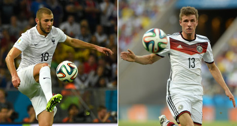 France v Germany: Les Bleus dare to dream