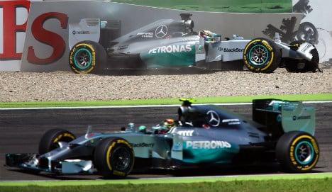 Rosberg takes home pole in German Grand Prix