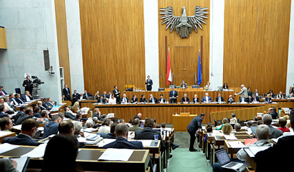 Only a quarter of Austrian MPs full time