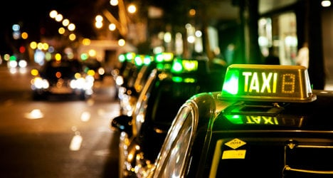 Barcelona taxi drivers strike in new Uber protest