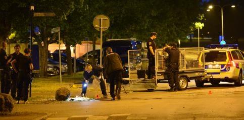 Police arrest 17 people after fatal shooting