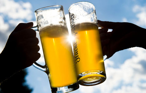 Burglars steal 300,000 litres of beer