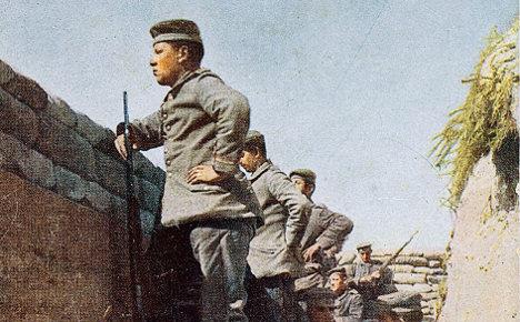 Rare World War I colour photos mark centenary