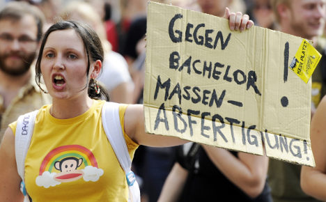 Germany's students fail to graduate in time
