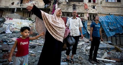 Fragile Gaza truce as Italy FM visits Israel