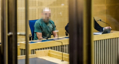 Stockholm 'bomber' charged for false alarm