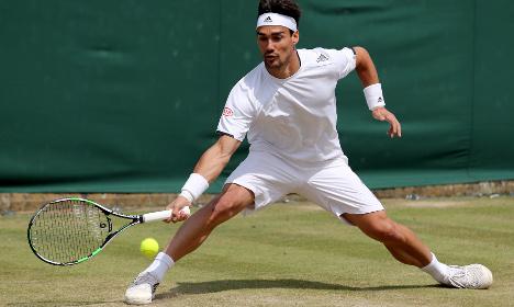 Fury as Italian tennis star calls Serb 'sh***y gypsy'