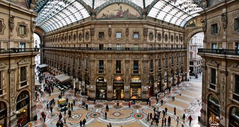 Milan soars in European tourist league