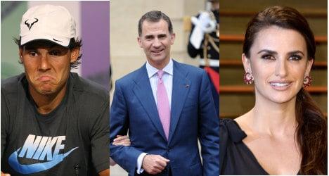 Named: Spain's most respected celebrity
