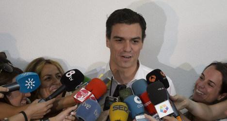 Spain's Socialists snub EU 'austerity' candidate