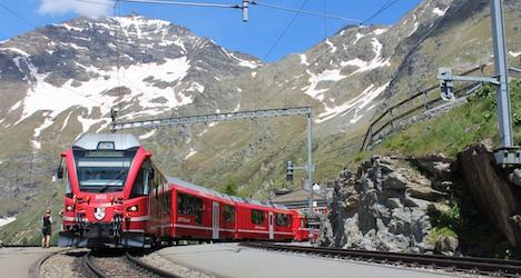 Panoramic Bernina Express fetes rail history