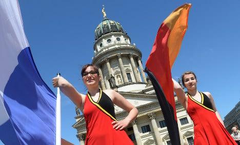Football-free fun: Berlin's French-German Fest