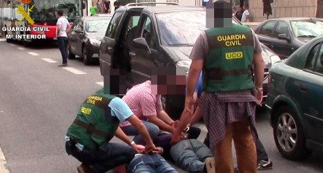 Barcelona drug suspects 'offered missiles for sale'
