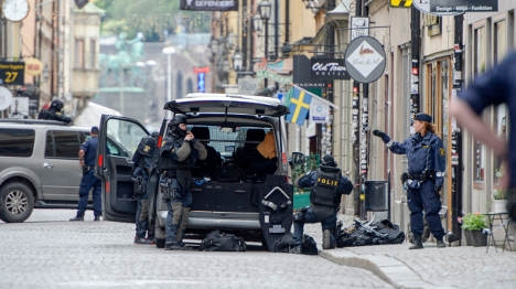 Stockholm 'bomb man' jailed and deported