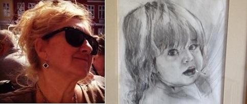 'Help find stolen painting of my dead daughter'