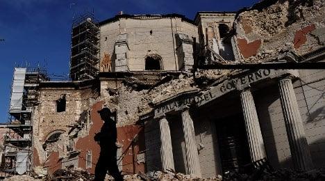 Man sets himself alight 'due to quake trauma'