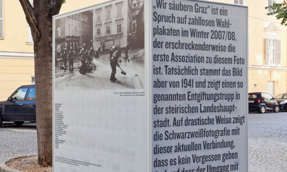 War memorial dismantled by Graz council