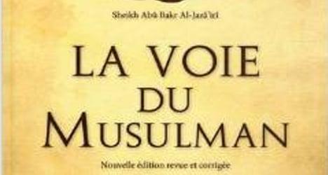 Uproar over sale of 'jihadist book' in France