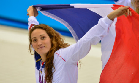 French Olympic champ Muffat retires at 25