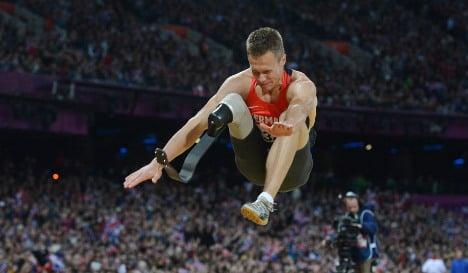 Unfair advantage for one-legged long jumper?