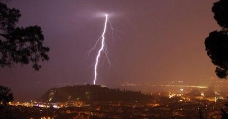 Pensioner dies as storms lash southern France