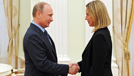 Ukraine tragedy hits Mogherini's EU hopes