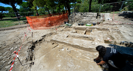 Roman graves contained curses to deter looters
