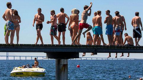 Sweden set for sweltering week of heat