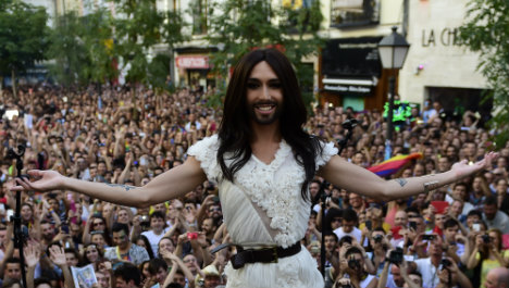 Europe's 'gay capital' stages huge Pride parade