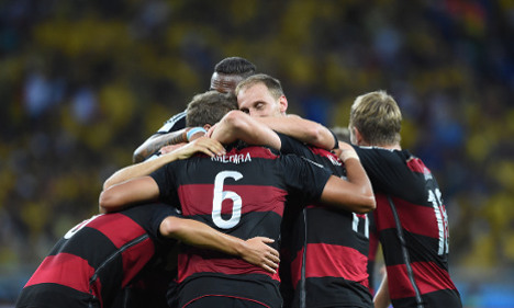 Focused Germans want title after Brazil rout