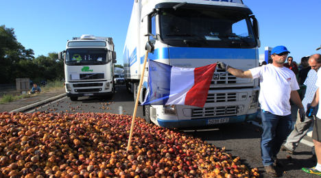 Peach wars: French fury over Spanish dumping