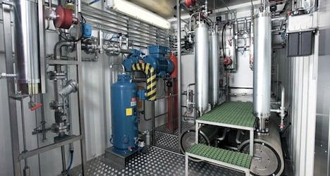 World's first hydrogen fuel plant in Vienna