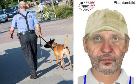 Manhunt on for police officer's killer