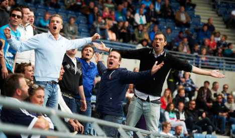 Viking FK fined for fan with explosive