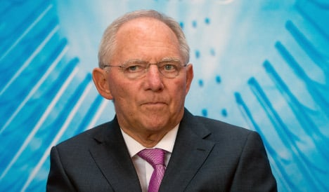 Schäuble: US spying in Germany 'stupid'