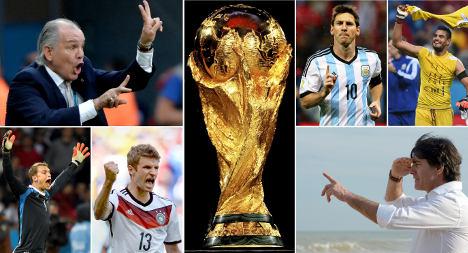 Germany vs. Argentina pre-match live blog