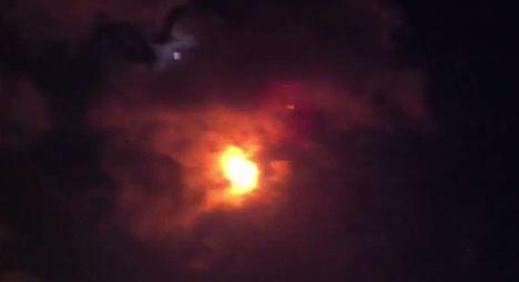 German cruise ship hit by rocket debris in Israel